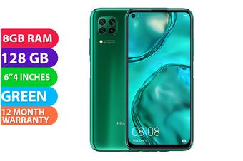 Huawei Nova 7i Dual SIM 4G LTE (8GB RAM, 128GB) Crush Green - FREE DELIVERY