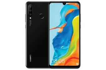 Huawei P30 Lite Dual SIM 4G LTE (128GB, Black) - FREE DELIVERY