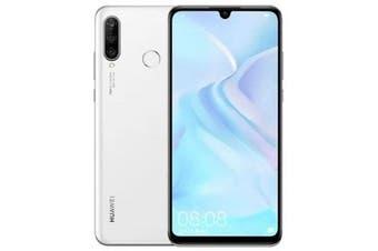 Huawei P30 Lite Dual SIM 4G LTE (128GB, White) - FREE DELIVERY