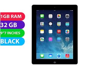 Apple iPad 3 Wi-Fi (32GB, Black) - Used as Demo
