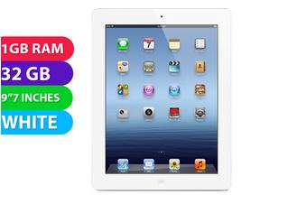 Apple iPad 3 Wi-Fi (32GB, White) - Used as Demo