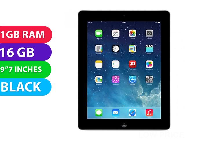 Apple iPad 3 Wi-Fi (16GB, Black) - As New