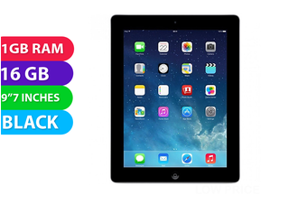 Apple iPad 3 Wi-Fi (16GB, Black) - Used as Demo