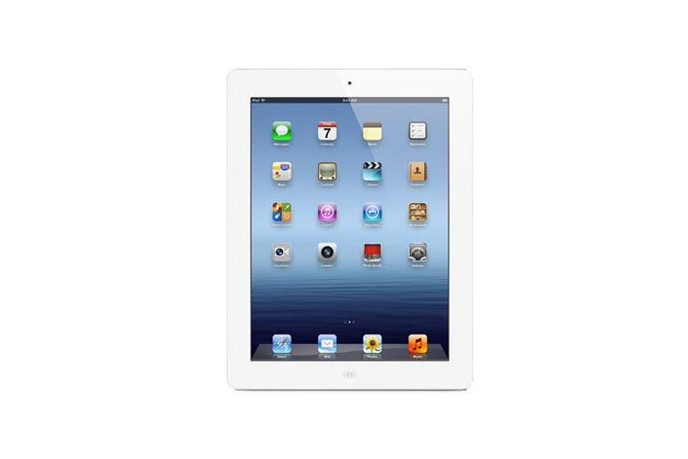 Apple iPad 3 Wi-Fi + Cellular (32GB, White) - Used as Demo