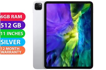 Apple iPad Pro 11 2020 Wifi (512GB, Silver) - FREE DELIVERY