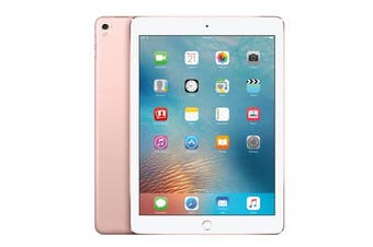 "Apple iPad PRO 9.7"" Wifi + Cellular (32GB, Rose Gold) - Used as Demo"