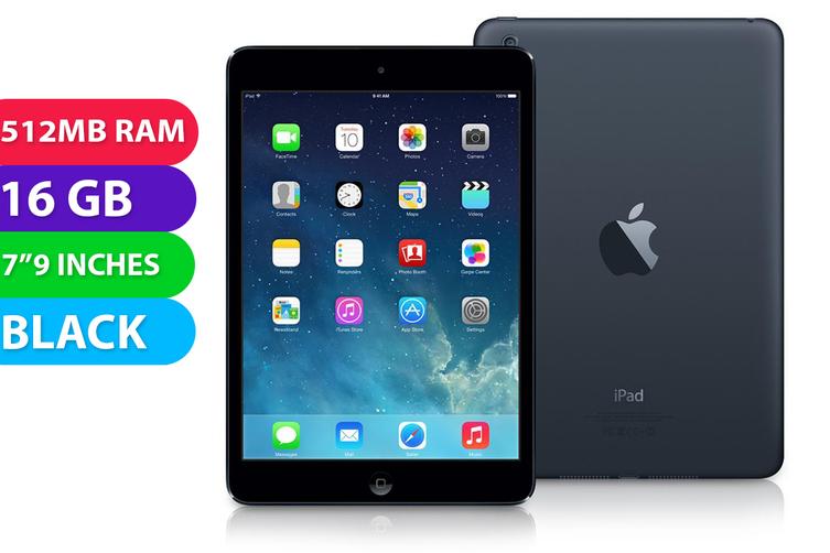 Apple iPad Mini Wifi (16GB, Black) - Used as Demo