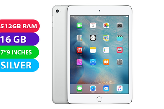 Apple iPad Mini Wifi (16GB, Silver) - Used as Demo