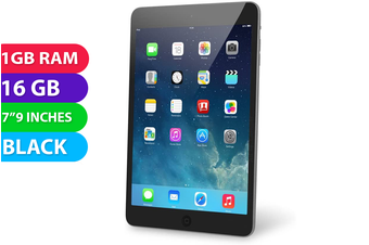 Apple iPad Mini 2 Wifi + Cellular (16GB, Black) - Used as Demo
