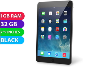 Apple iPad Mini 2 Wifi (32GB, Black) - Used as Demo