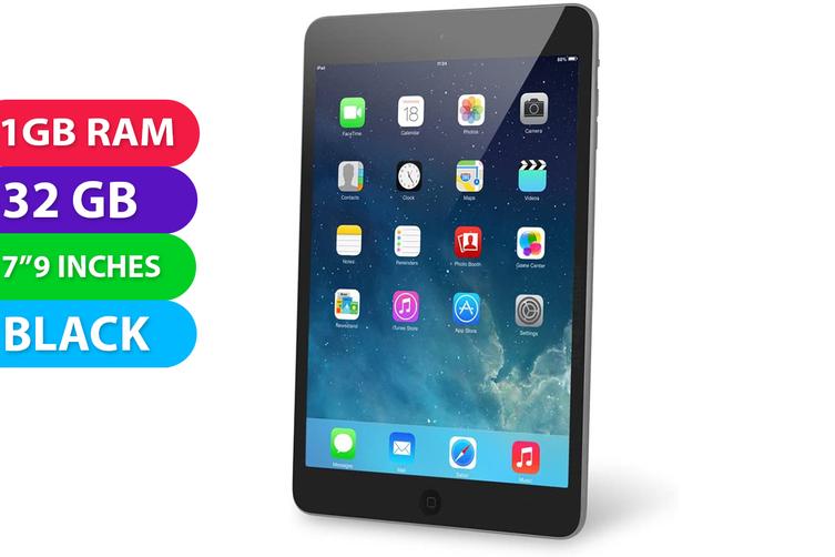 Apple iPad Mini 2 Wifi (32GB, Black) - Used as Demo
