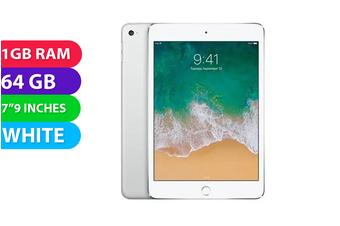 Apple iPad Mini 2 Wifi (64GB, White) - Used as Demo
