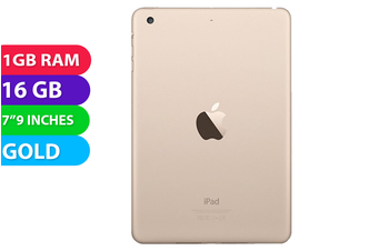 Apple iPad Mini 3 Wifi (16GB, Gold) - Used as Demo