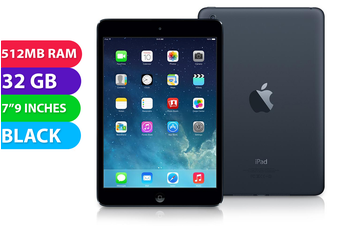 Apple iPad Mini Wifi (32GB, Black) - Used as demo