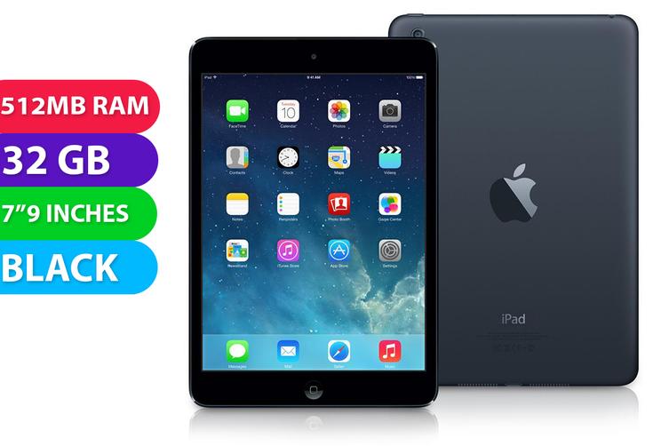 Apple iPad Mini Wifi (32GB, Black) - Used as demo