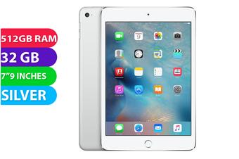 Apple iPad mini Wi-Fi (32GB, Silver) - As New