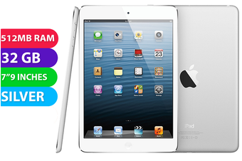 Apple iPad Mini Wifi (32GB, Silver) - Used as demo
