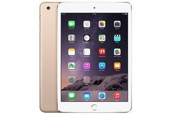 Apple iPad Mini 3 Wifi + Cellular (64GB, Gold) - Used as demo
