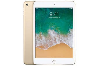 Apple iPad Mini 4 4G LTE (128GB, Gold) - Used as Demo