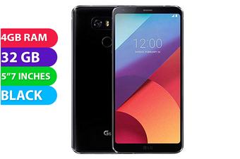 LG G6 4G LTE Australian Stock (32GB, Black) - Used as Demo