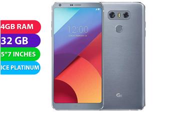 LG G6 4G LTE Australian Stock (32GB, Ice Platinum) - Used as Demo