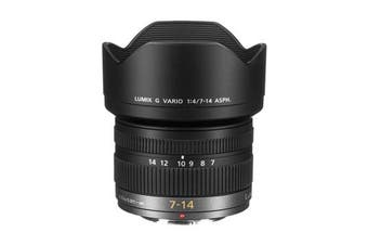 Panasonic LUMIX G VARIO 7-14mm f/4.0 ASPH Lens - FREE DELIVERY