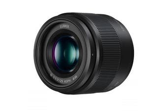 Panasonic Lumix G 25mm F1.7 ASPH Lens Black - FREE DELIVERY