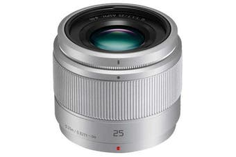Panasonic Lumix G 25mm F1.7 ASPH Lens Silver - FREE DELIVERY