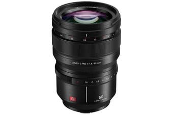 Panasonic Lumix S Pro 50mm F1.4 Lens - FREE DELIVERY
