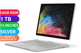 "Microsoft Surface Book 2 15"" i7 1TB 16GB RAM - FREE DELIVERY"