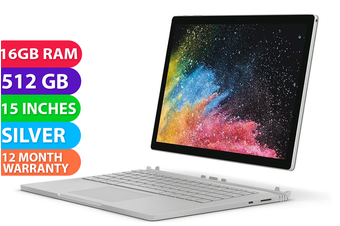 "Microsoft Surface Book 2 15"" i7 512GB 16GB RAM - FREE DELIVERY"