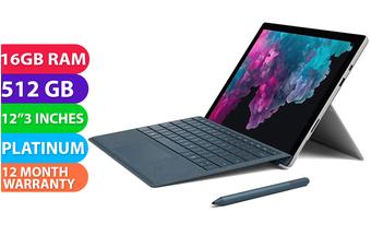 Microsoft Surface Pro 6 i7 512GB 16GB RAM Platinum - FREE DELIVERY