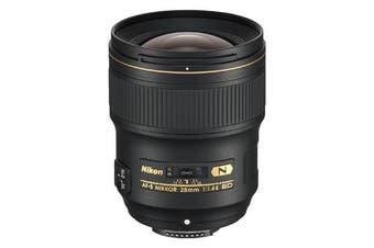 Nikon AF-S NIKKOR 28mm f/1.4E ED Lens - FREE DELIVERY