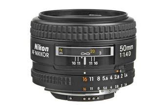 Nikon AF NIKKOR 50mm f/1.4D Lens - FREE DELIVERY