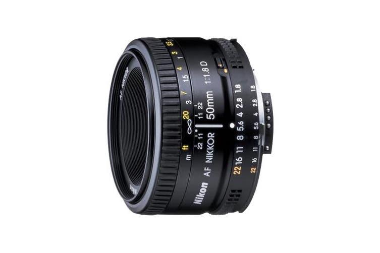 Nikon AF NIKKOR 50mm f/1.8D Lens - FREE DELIVERY