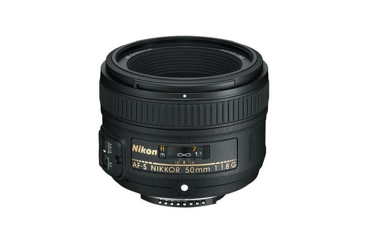 Nikon AF-S NIKKOR 50mm f/1.8G Lens - FREE DELIVERY