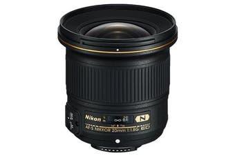 Nikon AF-S NIKKOR 20mm f/1.8G ED Lens - FREE DELIVERY