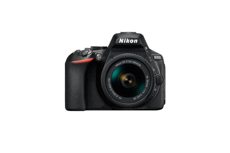 Nikon D5600 Kit AF-P (18-55 VR) Black- FREE DELIVERY
