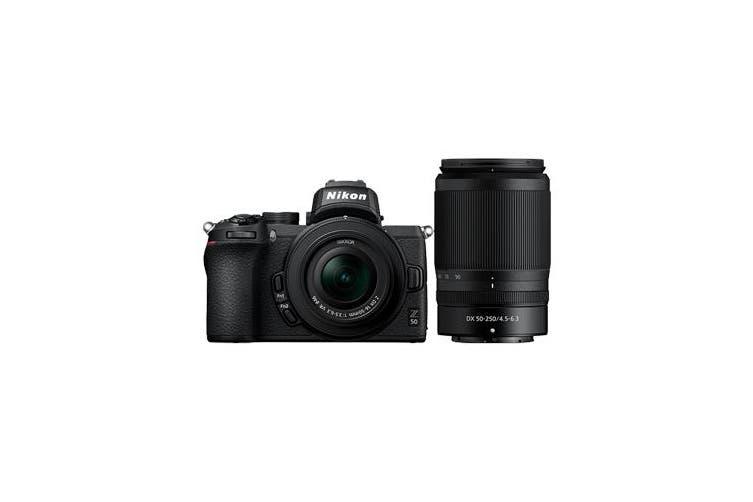 Nikon Z50 Twin Lens Kit (16-50)(50-250) - FREE DELIVERY