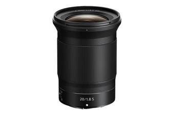 Nikon NIKKOR Z 20mm f/1.8 S Lens - FREE DELIVERY