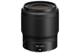 Nikon NIKKOR Z 50mm f/1.8 S Lens - FREE DELIVERY