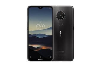 Nokia 7.2 Dual SIM 4G LTE (6GB RAM, 128GB, Charcoal) - FREE DELIVERY