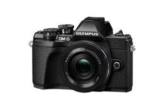 Olympus OM-D E-M10 MK III (14-42 EZ) Digital Cameras Black (6 MONTH WARRANTY)