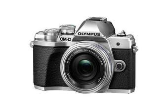 Olympus OM-D E-M10 MK III (14-42 EZ)  Silver - (FREE DELIVERY)