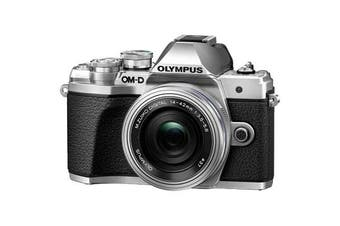 Olympus OM-D E-M10 MK III (14-42 EZ) Silver - (FREE DELIVERY)