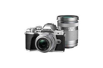 Olympus E-M10 III TwinKit (14-42 EZ)(40-150) Silver - (FREE DELIVERY)
