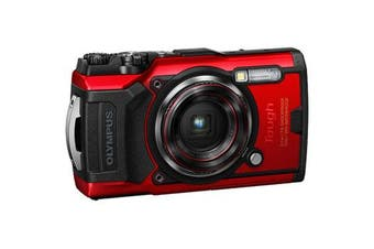 Olympus TOUGH TG-6 Red - (FREE DELIVERY)