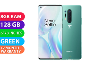 OnePlus 8 Pro Dual Sim 5G (8GB RAM, 128GB, Green) - FREE DELIVERY