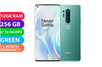 OnePlus 8 Pro Dual Sim 5G (12GB RAM, 256GB, Green) - FREE DELIVERY