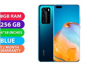 Huawei P40 Pro Dual SIM 5G (8GB RAM, 256GB) Deep Sea Blue - FREE DELIVERY